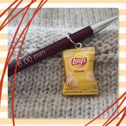 Anneau marqueur sachet chips