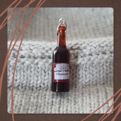 Anneau marqueur bière brune