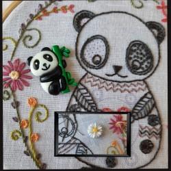 Needle minder panda avec...